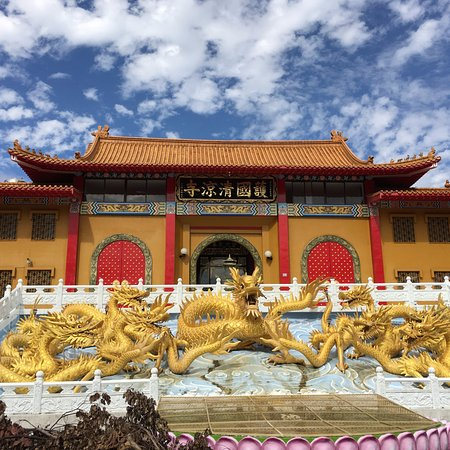 Taiping, ไถจง: Temple front