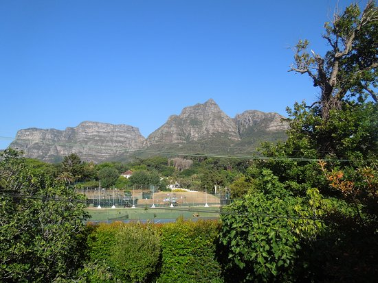 Rondebosch, South Africa: ask for the room with this view!