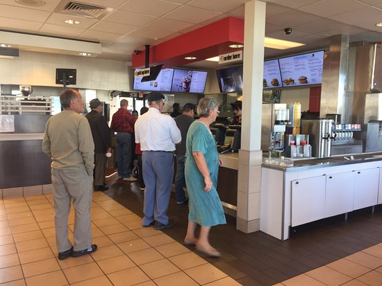 Inside of McDonald's in Pahrump