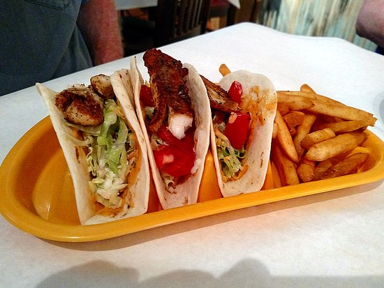 Foley, AL: Fish tacos.