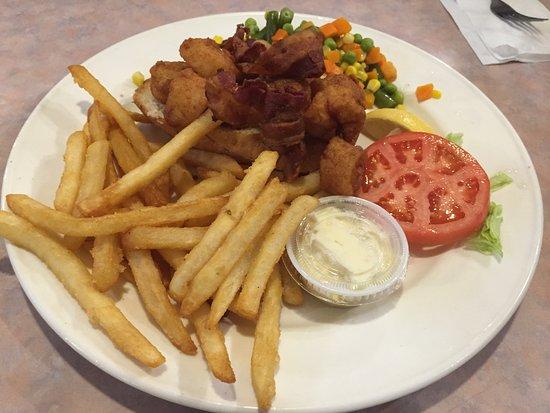 Stardust Restaurant: Deep-fried Scallops (Nov 2016)