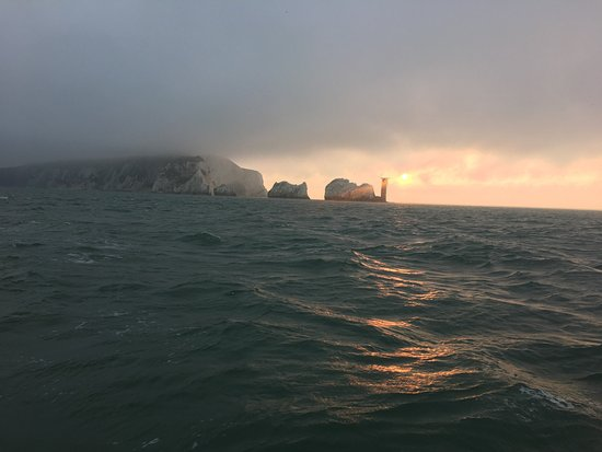 Lymington, UK: Sunrise at the needles