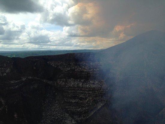 MASAYA's NINDIRI Volcano - SULFUR
