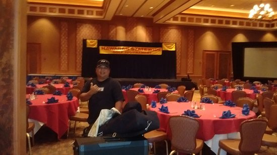 Barona Resort & Casino: DJ gets ready to set up for the event.