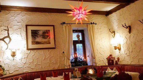 Grunhain-Beierfeld, Tyskland: Gaststube