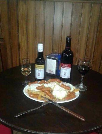 Estepa, Spanien: Comida casera