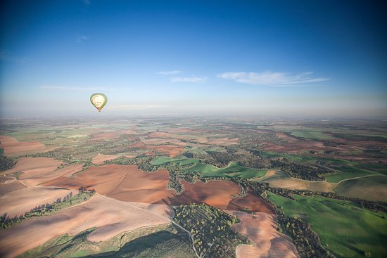 Sde Boker, Israel: Hot Air Balloon in Kibbutz Ruhama