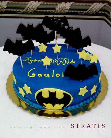 stratis glykismatopoieion happy birthday batman