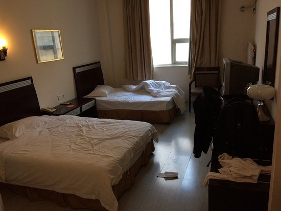 Shanghai City Central Youth hostel: Room