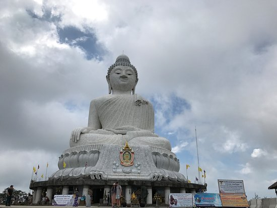 Chalong, Tailandia: The big Buddha