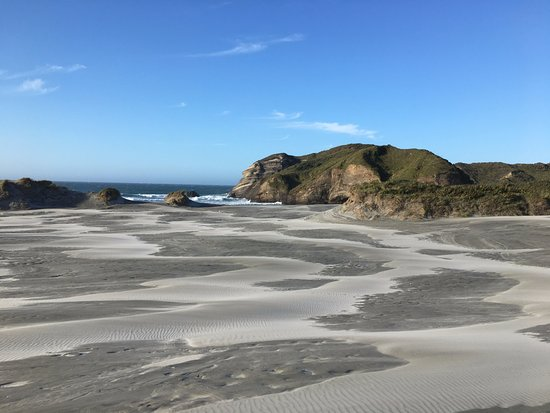 Golden Bay, Νέα Ζηλανδία: Wharariki Beach