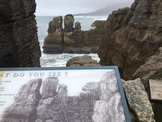 Punakaiki, นิวซีแลนด์: Pancakes rocks