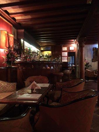 restaurant interior. - Picture of Restaurant Terrazza Danieli ...