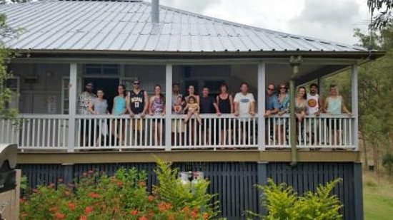 Boonah, ออสเตรเลีย: Just some of us that enjoyed the house
