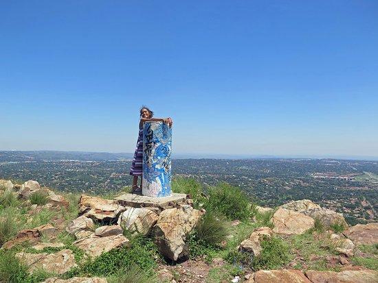 Randburg, Zuid-Afrika: View to the north, towards the Magaliesburg