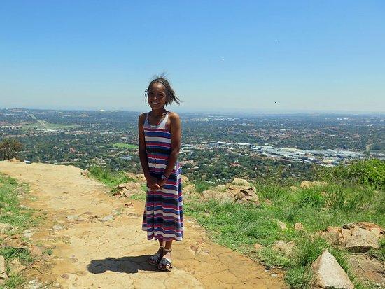 Randburg, Zuid-Afrika: Looking east towards Sandton