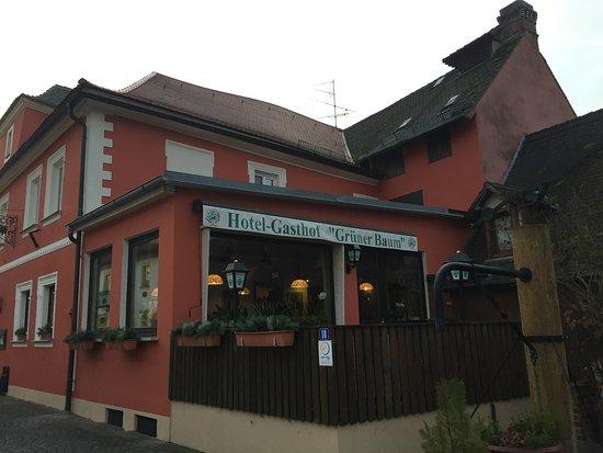 Hotel Grüner Baum: Front view
