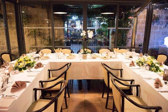 Balzan, مالطا: Beautiful table layouts
