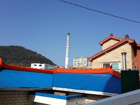 Tongyeong, Korea Południowa: Dongpirang Wall Painting Village