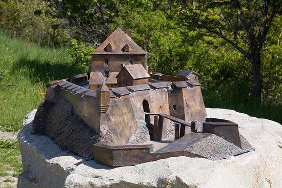 St Vincent les Forts, Frankrijk: Maquette fort vauban viapac