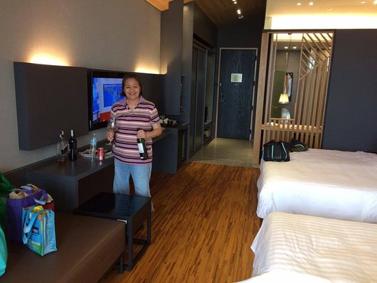 Clark Freeport Zone, ฟิลิปปินส์: a room big enough for 3, even 4 pax