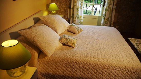 Naussannes, Frankrig: chambre romantique