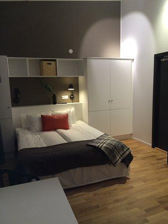 Kista, İsveç: Singel studio sleeping area