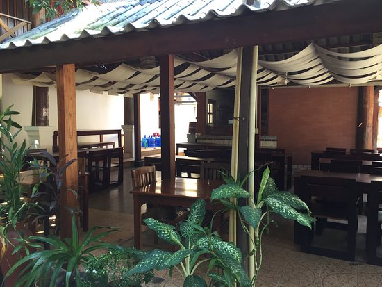 MyLaoHome Boutique Hotel: breakfast area