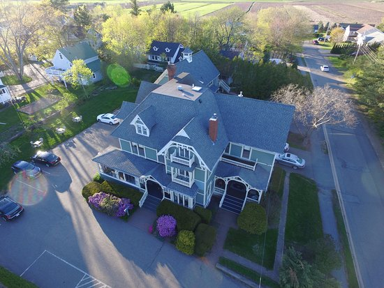 ‪‪Wolfville‬, كندا: Front Overhead view‬