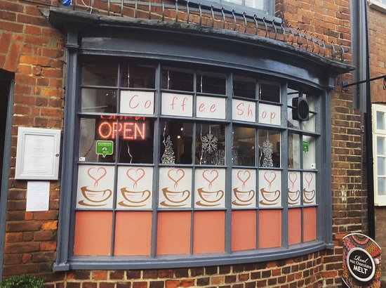 Lenham, UK: Our new front window design