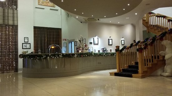 Claregalway, Irland: Reception Area