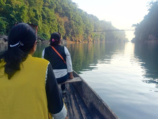 Meghalaya, Indie: The ride on the river along the valley is a must do