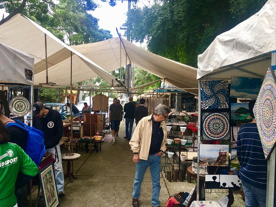 Benedito Calixto arts market