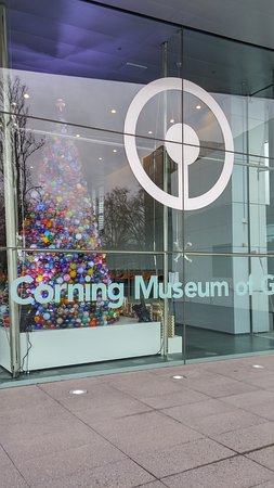 Corning Museum of Glass front entry