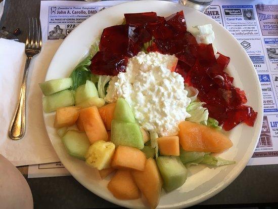 อีสต์ฮันโนเวอร์, นิวเจอร์ซีย์: East Hanover Diner - my fruit salad