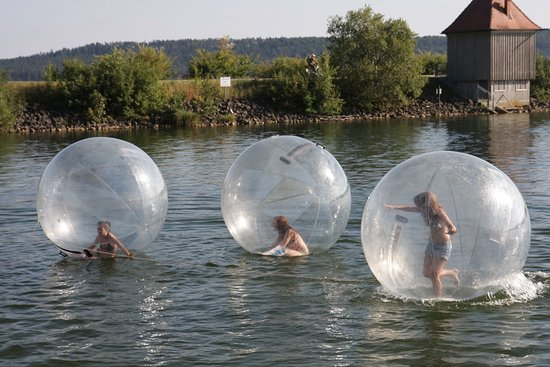 Pleinfeld, Tyskland: Spaß am Brombachsee