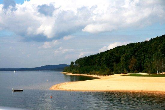 Pleinfeld, Tyskland: Brombachsee-Ufer