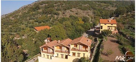 Casas Del Monte, Spania: vista de atras