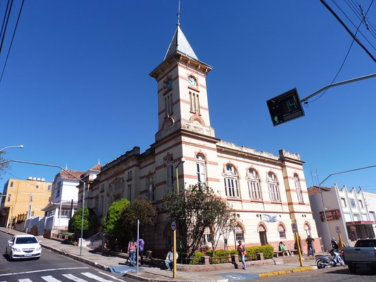 Sao Manuel, SP: The museum looks like a church.