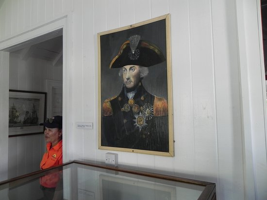 Admiral's House Museum: portrait of Nelson