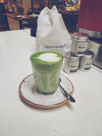 Greater London, UK: matcha latte