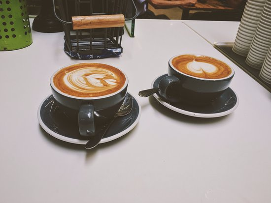 Greater London, UK: cappuccino