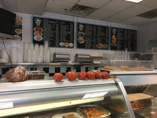 Livingston Bagel - menu board