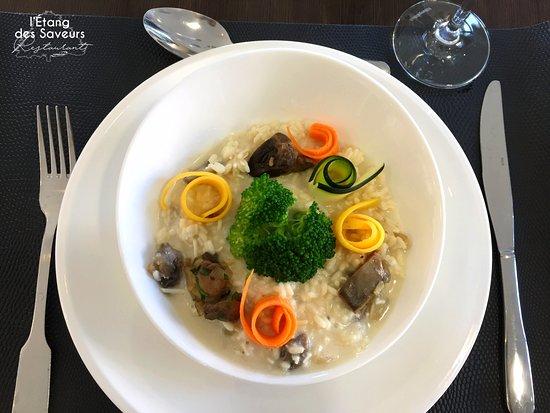 Fos-Sur-Mer, France: Risotto végétarien