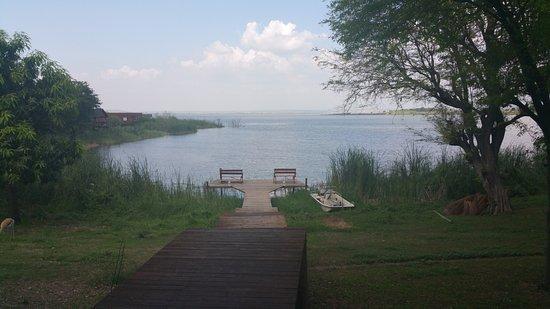 Mubanga Lodge: A lagoa