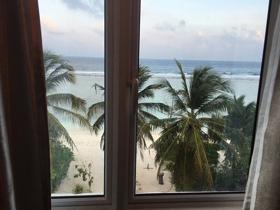 Hulhule Island: View from our window