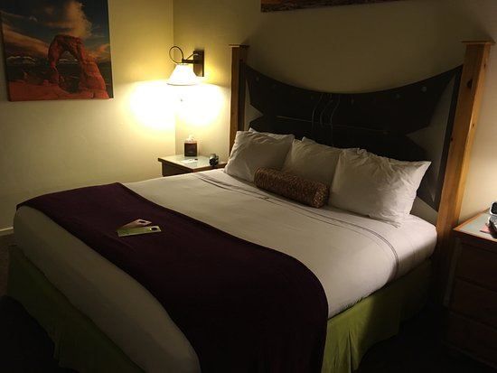 The Gonzo Inn: Really Comfortable bed