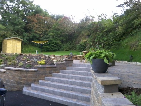 Ballycastle, UK: The back garden