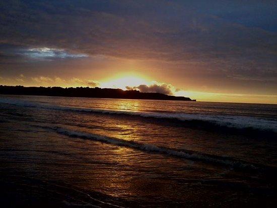 Sunset at Ballycastle beach near Woodleigh Cottage