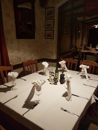 Istarska Konoba Buici: Table setup